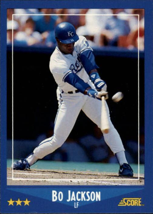 1988 Score 180 Bo Jackson