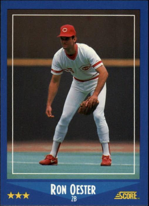 1988 Score #183 Ron Oester