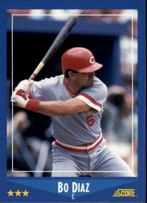 1988 Score #206 Bo Diaz