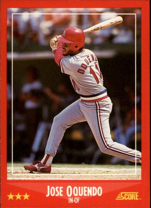 1988 Score #248 Jose Oquendo
