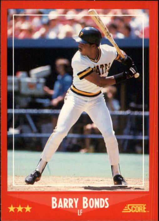 1988 Score #265 Barry Bonds