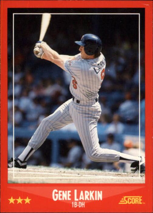 1988 Score #276 Gene Larkin RC