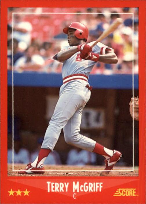 1988 Score #281 Terry McGriff