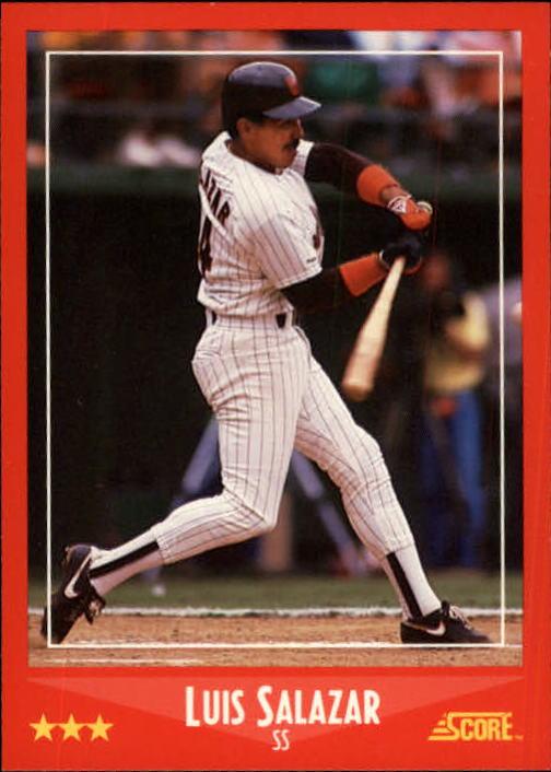 1988 Score #284 Luis Salazar