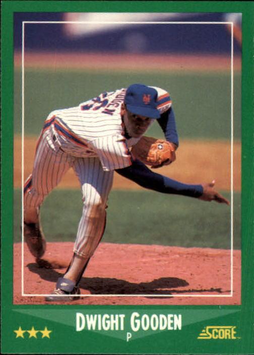 1988 Score #350 Dwight Gooden