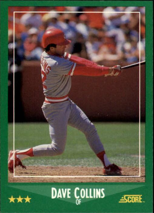 1988 Score #371 Dave Collins