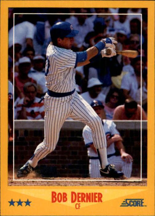 Details About 1988 Score Baseball Card 451 Bob Dernier