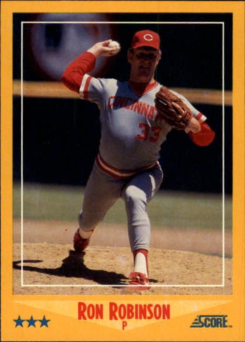 1988 Score #476 Ron Robinson