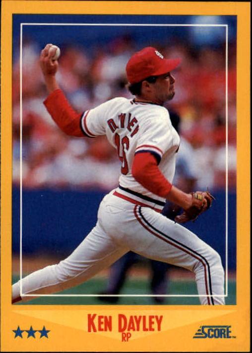 1988 Score #517 Ken Dayley