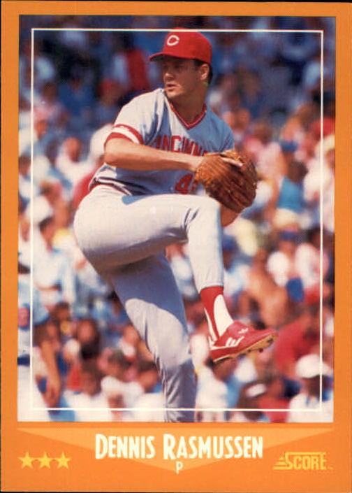1988 Score #560 Dennis Rasmussen