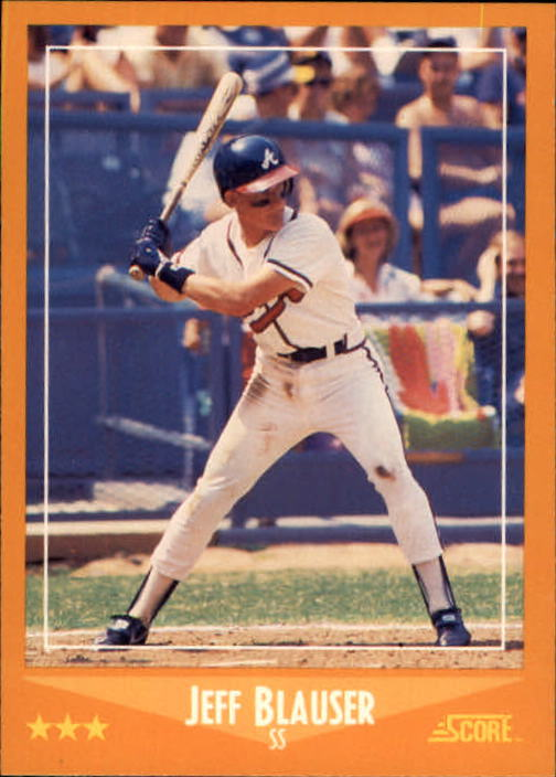 1988 Score #562 Jeff Blauser RC