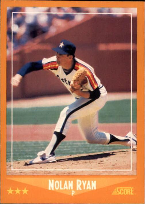 1988 Score #575 Nolan Ryan
