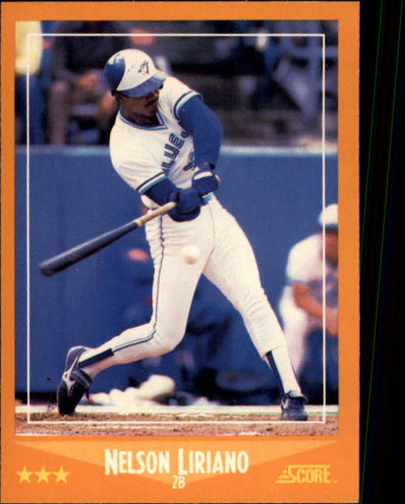 1988 Score #621 Nelson Liriano RC