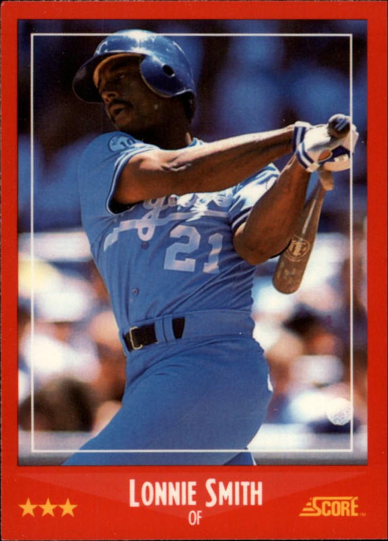 1988 Score Glossy #263 Lonnie Smith