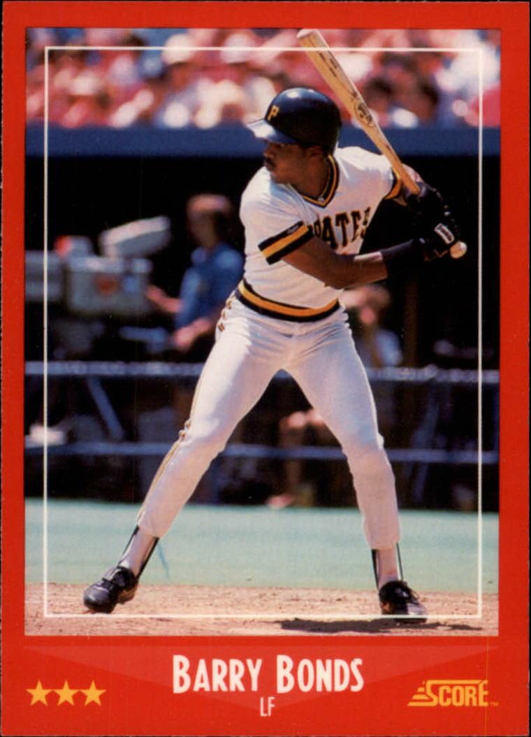 1988 Score Glossy #265 Barry Bonds