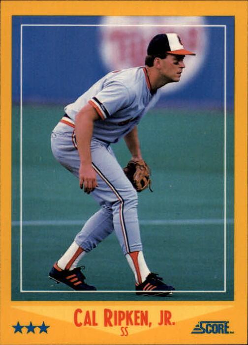 1988 Score Glossy #550 Cal Ripken