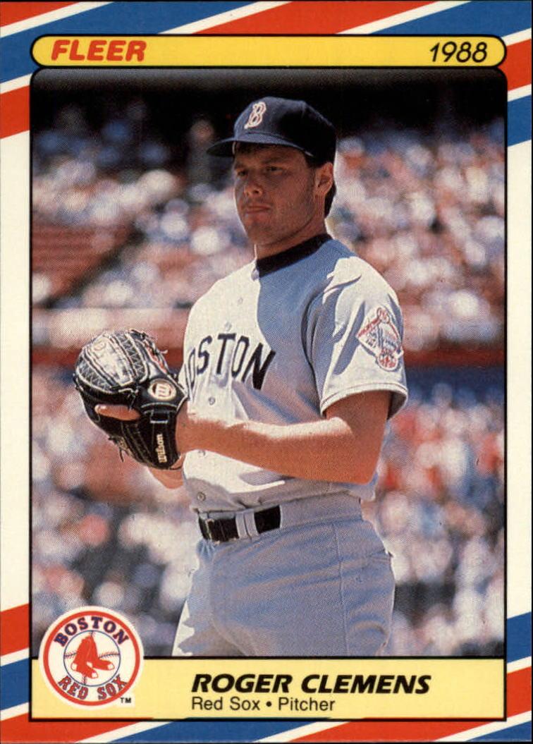 Details About 1988 Fleer Superstars Baseball Card 9 Roger Clemens
