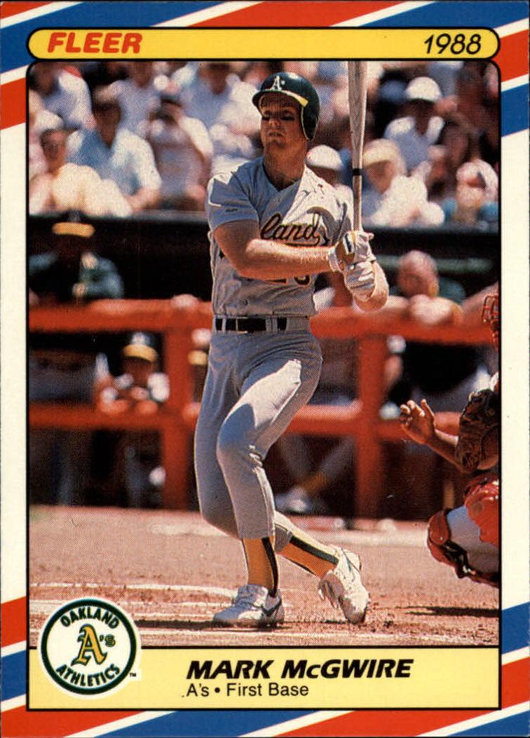 Details About 1988 Fleer Superstars Oakland Athletics Baseball Card 23 Mark Mcgwire