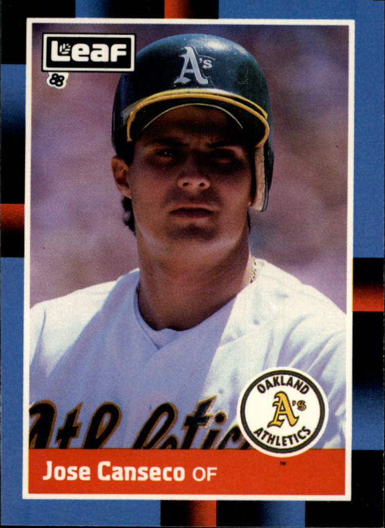 1988 Leaf/Donruss #138 Jose Canseco