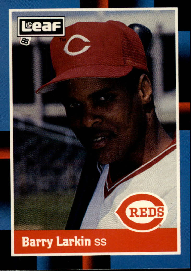 1988 Leaf/Donruss #226 Barry Larkin