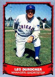 1988 Pacific Legends I #27 Leo Durocher