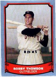1988 Pacific Legends I #45 Bobby Thomson