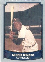 1988 Pacific Legends I #51 Minnie Minoso
