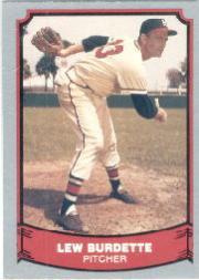 1988 Pacific Legends I #68 Lou Burdette