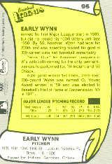 1988 Pacific Legends I #95 Early Wynn back image