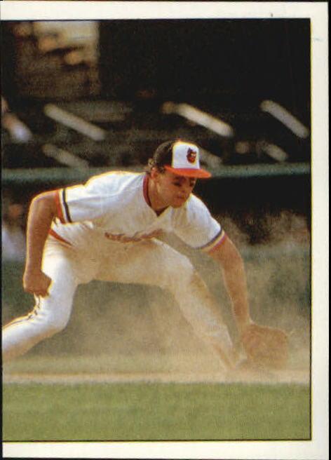 1988 Panini Stickers #11 Orioles W-L Breakdown/Cal Ripken IA