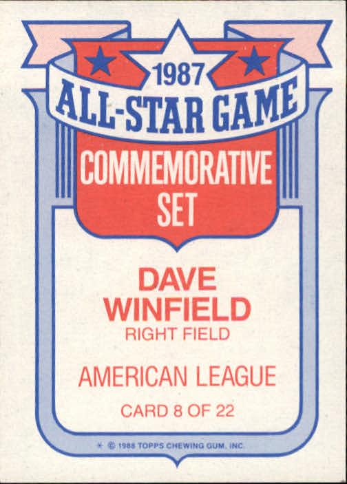 1988 Topps Glossy All Stars Baseball 1 22 Your Choice