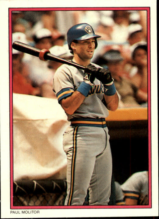 1988 Topps Glossy Send-Ins #57 Paul Molitor