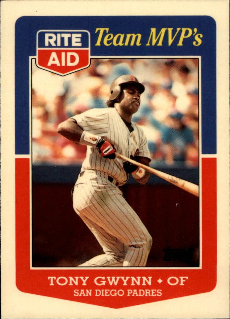 1988 Topps Rite-Aid Team MVP's #11 Tony Gwynn