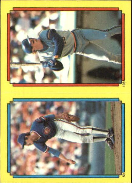 1988 Topps Stickers #59 Greg Maddux (198)