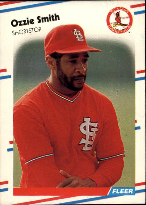 1988 Fleer #47 Ozzie Smith
