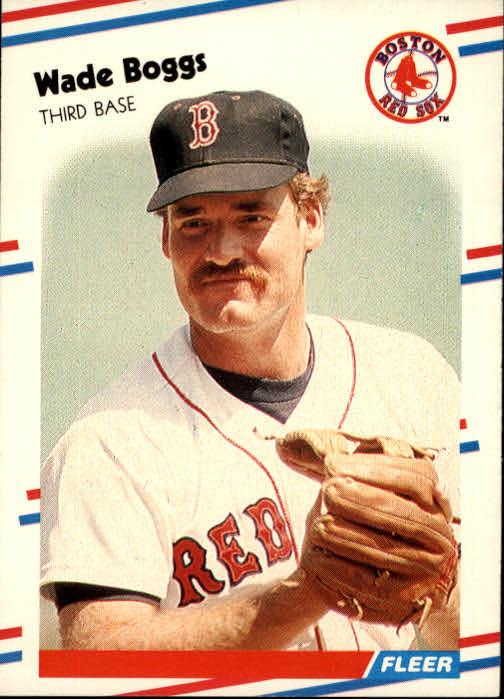 1988 Fleer #345 Wade Boggs