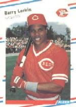 1988 Fleer Glossy #239 Barry Larkin