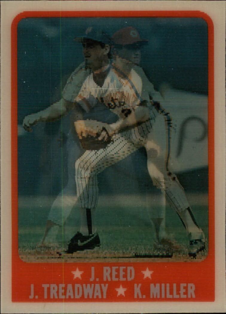 1988 Sportflics #225 Reed/Treadway/Miller