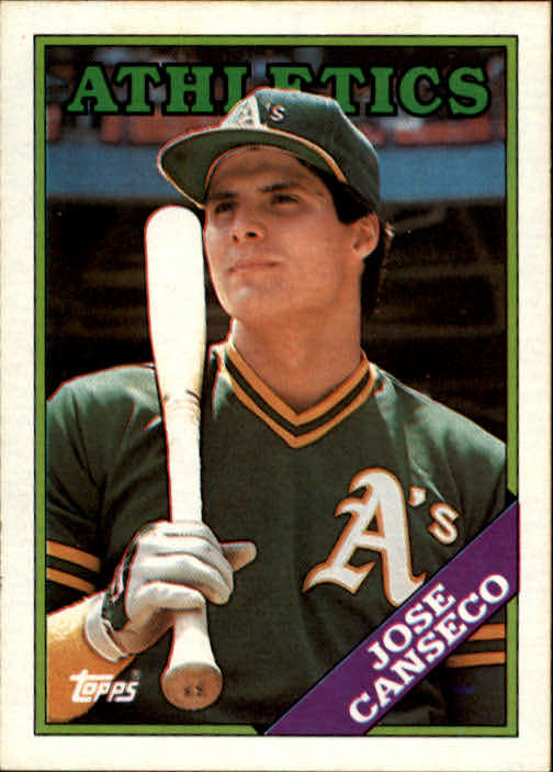 1988 Topps #370 Jose Canseco
