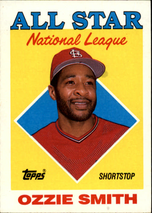 1988 Topps #400 Ozzie Smith AS