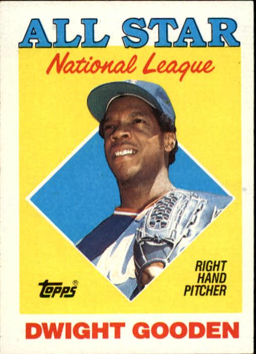 1988 Topps #405 Dwight Gooden AS