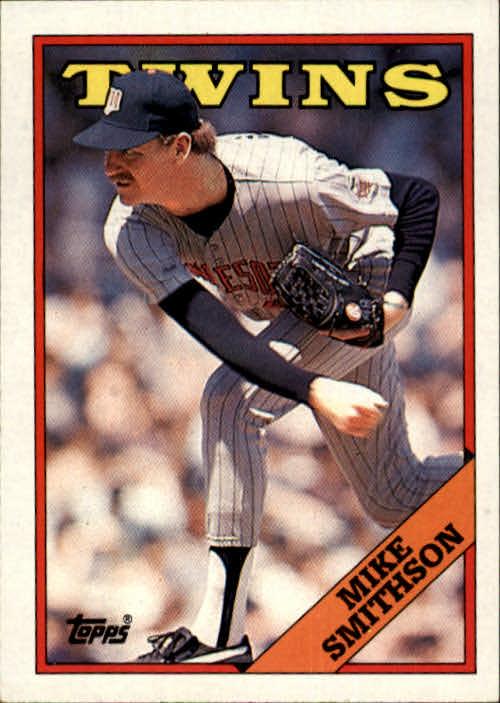 1988 Topps #554 Mike Smithson