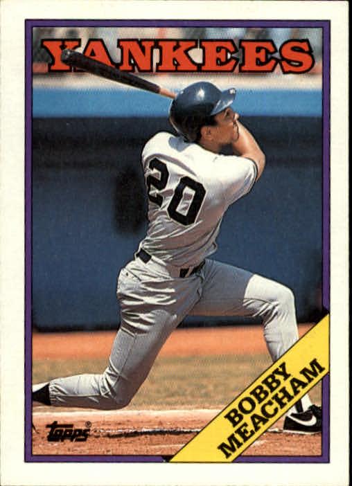 1988 Topps #659 Bobby Meacham