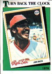 1988 Topps #662 Jim Rice TBC