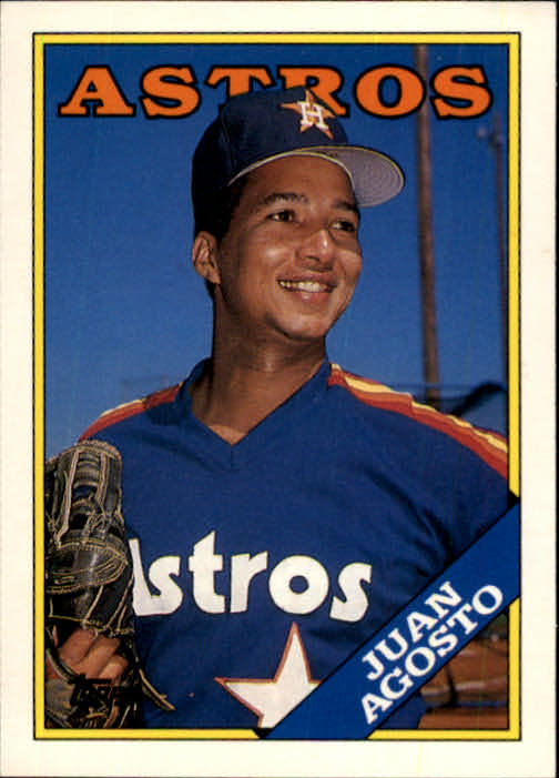1988 Topps Traded #2T Juan Agosto
