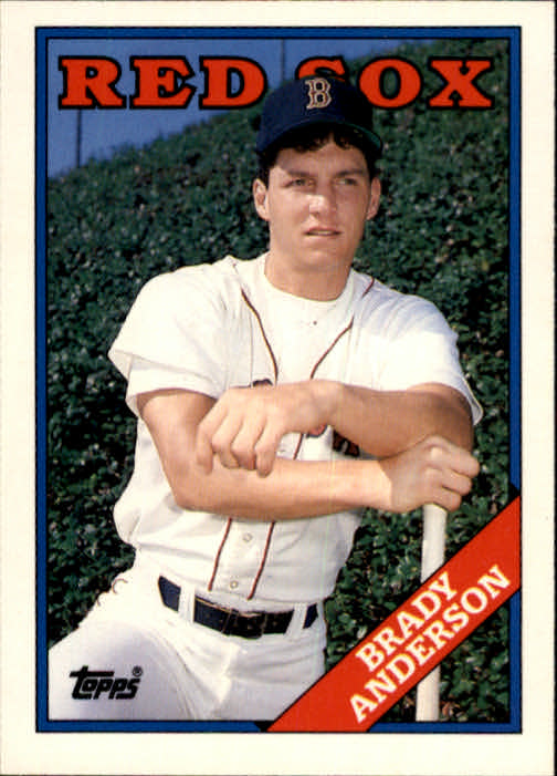 1988 Topps Traded #5T Brady Anderson XRC