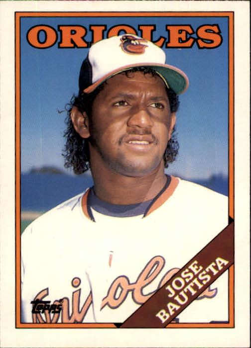 1988 Topps Traded #10T Jose Bautista XRC