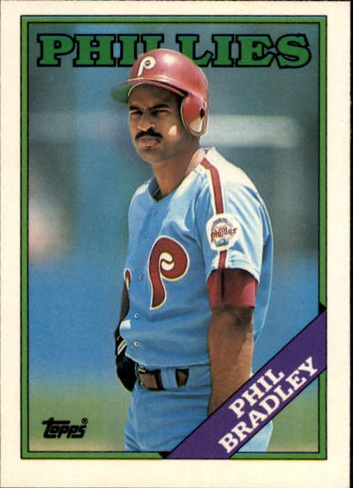 1988 Topps Traded #18T Phil Bradley