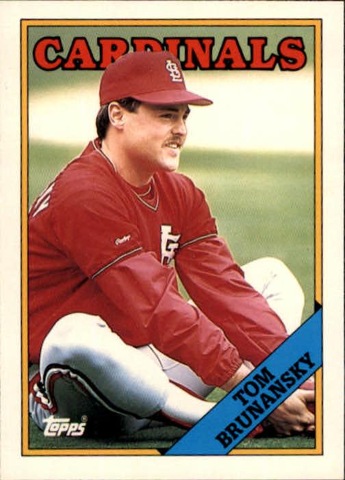 1988 Topps Traded #20T Tom Brunansky