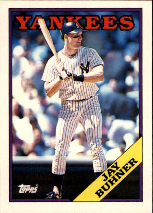 1988 Topps Traded #21T Jay Buhner XRC